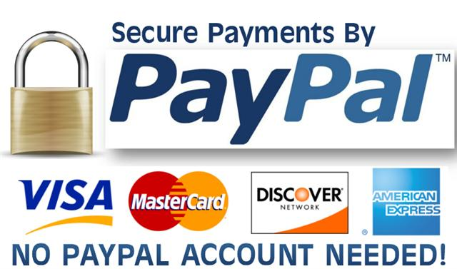 Paypal secured credit card
